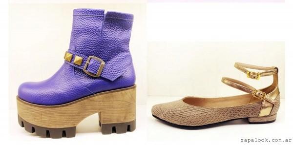 Andrea Bo otoño invierno 2015 - Botinetas y zapatos taco altos