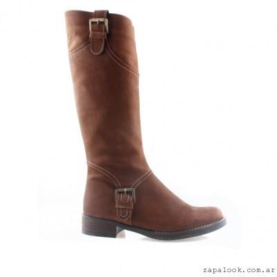 botas de montar marrones - Batistella otoño invierno 2015