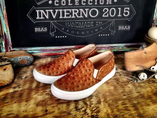 panchas avestruz  Marignan en tus pies  invierno 2015