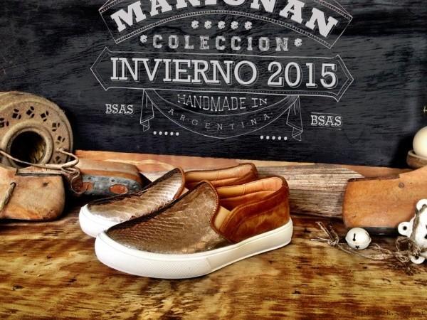 panchas doradas Marignan en tus pies  invierno 2015