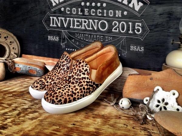panchas pelo animal print Marignan en tus pies  invierno 2015