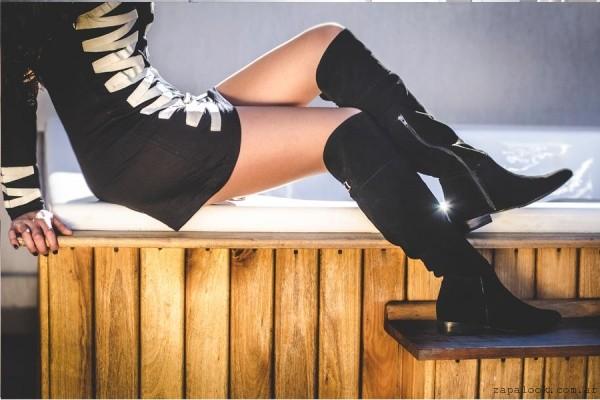 botas bucaneras negras Alfonsa Bs As invierno 2015