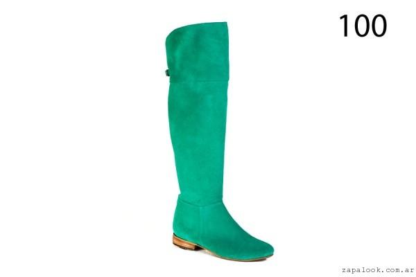 botas bucaneras verde Alfonsa Bs As invierno 2015
