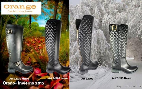 botas caña alta calzados Orange invierno 2015
