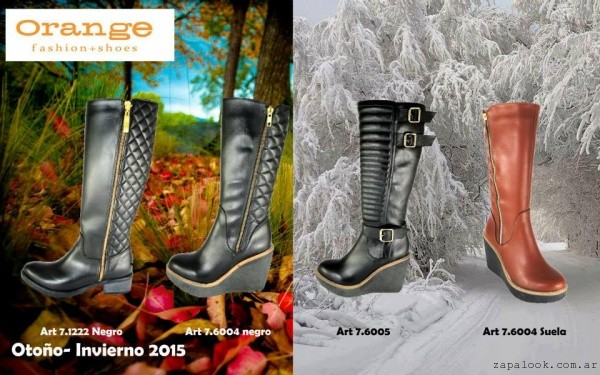 botas calzados Orange invierno 2015