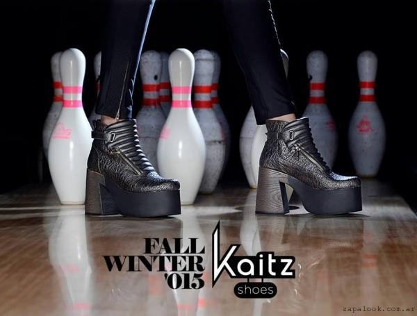 botinetas metalizadas Kaitz otoño invierno 2015
