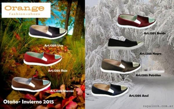 panchas invierno 2015 - calzados Orange invierno 2015