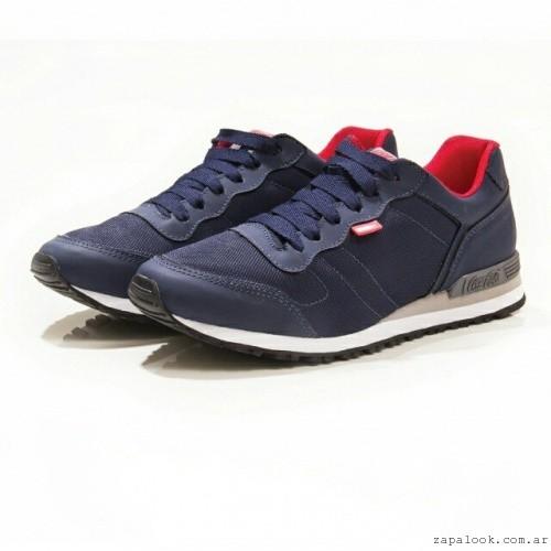 zapatillas azules  Coca cola Shoes invierno 2015