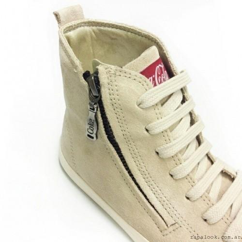 zapatillas botitas con cierre  Coca cola Shoes invierno 2015