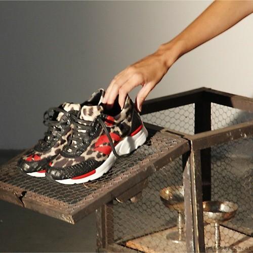 zapatillas urbanas animal print  invierno 2015 - Ricky Sarkany