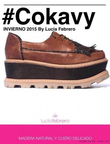zapato abotinado Lucia Febrero invierno 2015