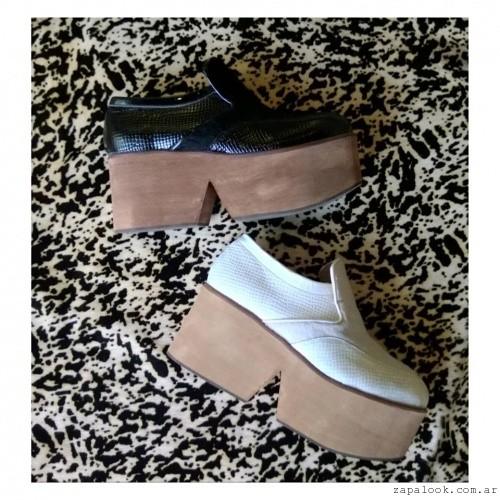 zapatos con base de madera Pepe Cantero invierno 2015