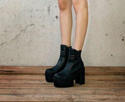 Zapatos negros de invierno YXYWFXxVKB