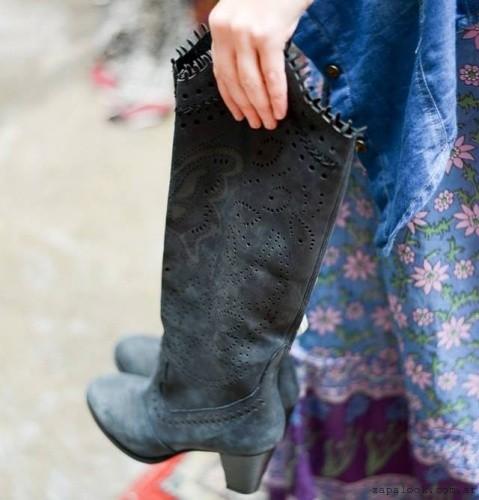 botas bucaneras estilo texano - Calzado Rapsodia invierno 2015