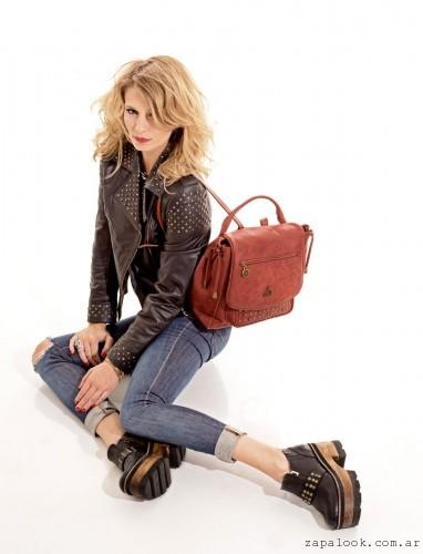mochila roja - Cruz de la rosa otoño invierno 2015