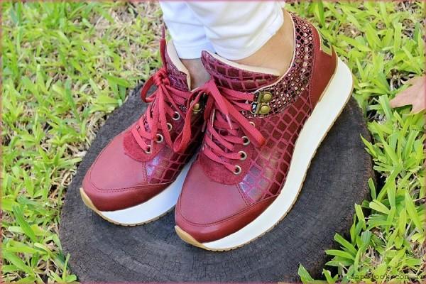 zapatillas bordo con base otoño invierno 2015 TOPS calzados