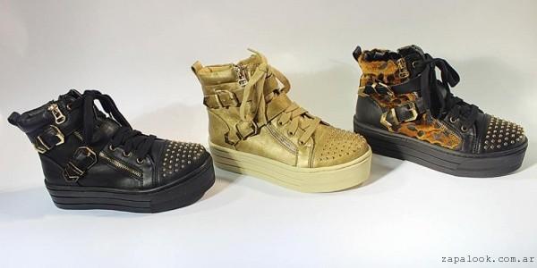 zapatillas botitas con base otoño invierno 2015 TOPS calzados