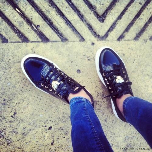 zapatillas de charol   - Sibyl Vane invierno 2015