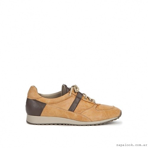 zapatillas de cuero mujer Corium otoño invierno 2015