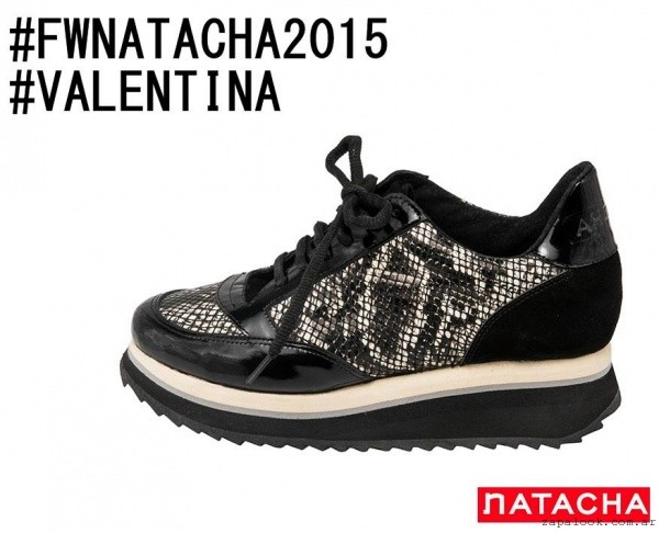 zapatillas urbanas invierno 2015 calzados Natacha