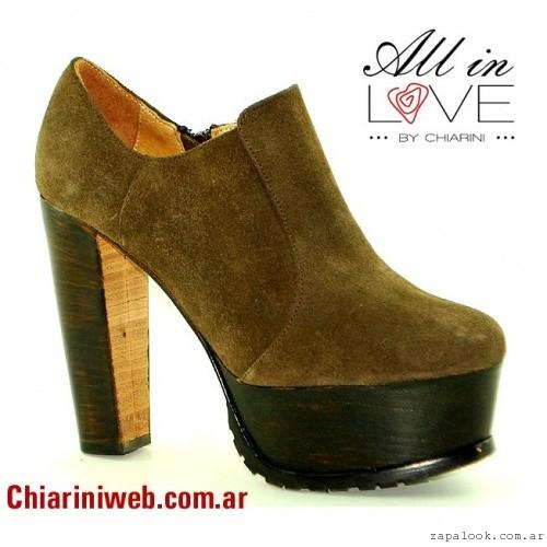 zapatos abotinados Chiarini otoño invierno 2015