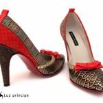 Luz Principe – Zapatos de fiesta invierno 2015
