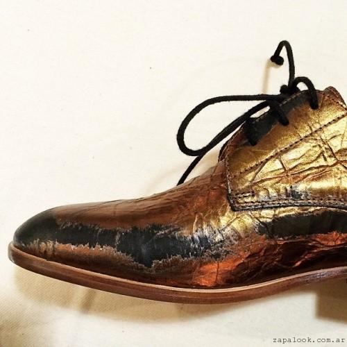 zapatos metalizados - Gekke invierno 2015