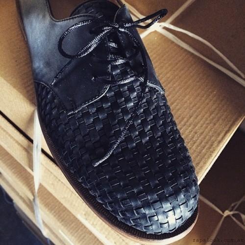 zapatos negros acordonados - Gekke invierno 2015