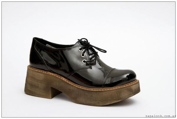 zapatos negros de charol -  zapatos JOW otoño invierno 2015