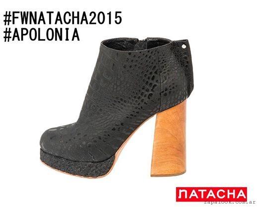 zapatos taco altos invierno 2015 calzados Natacha