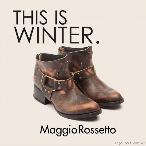 Botineta tonos marrones - Maggio Rossetto otoño invierno 2015