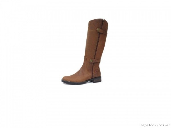 bota de montar color suela  - Calzados New Factory  invierno 2015