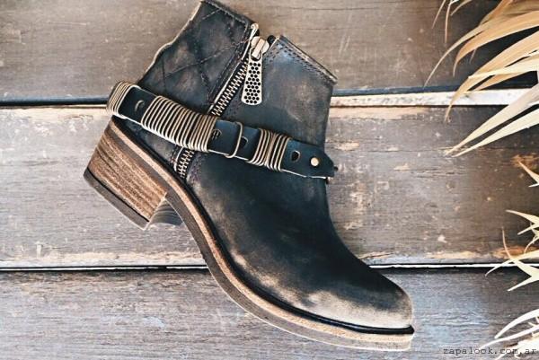 botineta de cuero Narcisa zapatos invierno 2015