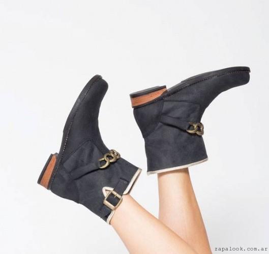 botinetas negras Corre Lola calzados otoño invierno 2015