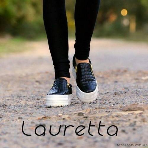 panchas con cierre  - Lauretta calzados invierno 2015