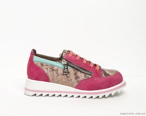 zapatillas fucsia - DONNE calzados otoño invierno 2015