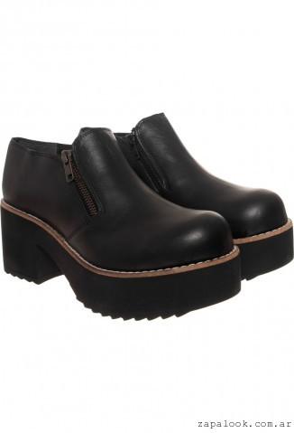 Zapatos negros de invierno 2ymSxXt