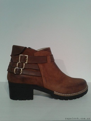 Botinetas marrones - Zaia calzados invierno 2015