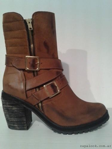 botas marrones con cierre - Zaia calzados invierno 2015