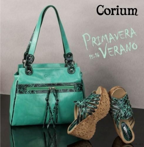 Corium - carteras y sandalias primavera verano 2015-2016