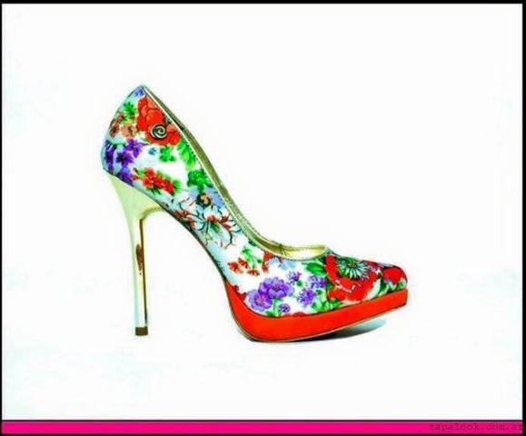 Mary Roose - zapato estampado de fiesta verano 2016