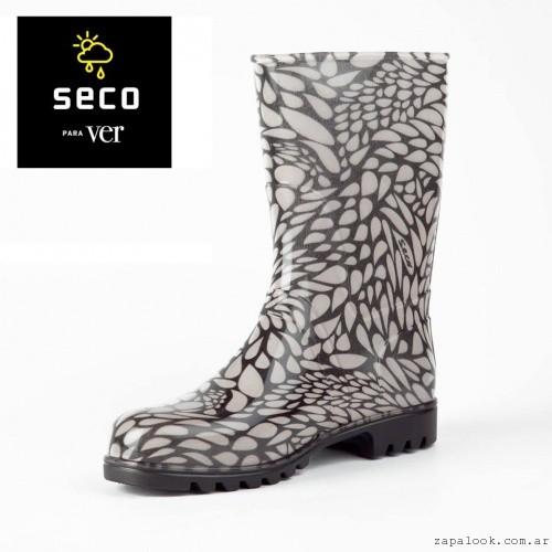 botas en blanco y negro - Seco invierno 2015