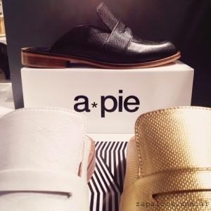 mocasines sin talon - anticipo calzados American Pie verano 2016
