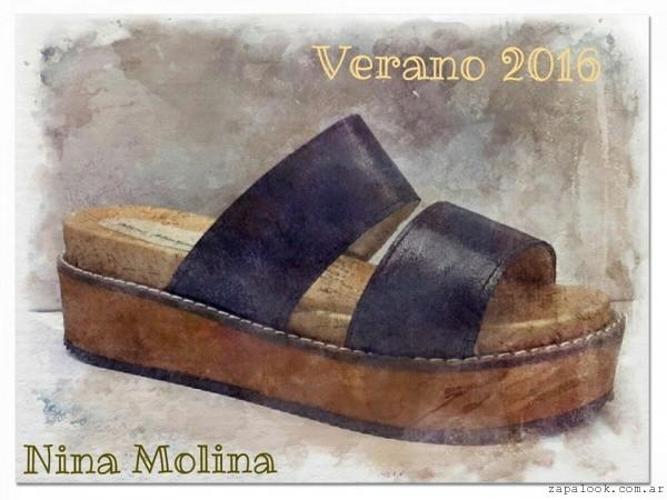 sandalia chatita verano 2016 - Nina Molina
