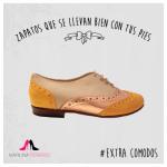Zapatos abotinados de mujer invierno 2015