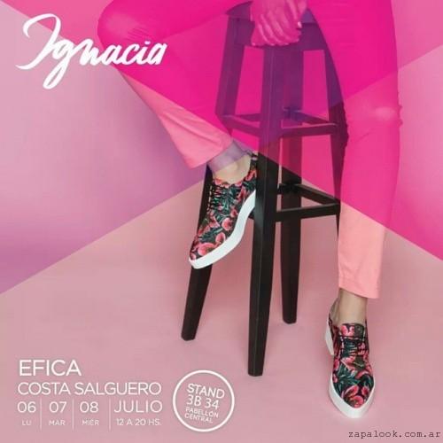 zapatos estampados acordonados anticispo Ignacia Calzados