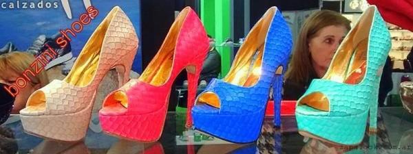 Bonzini Shoes - zapatos de fiesta con plataforma 2016