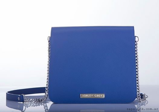 cartera azul intenso Ashley Grey verano 2016