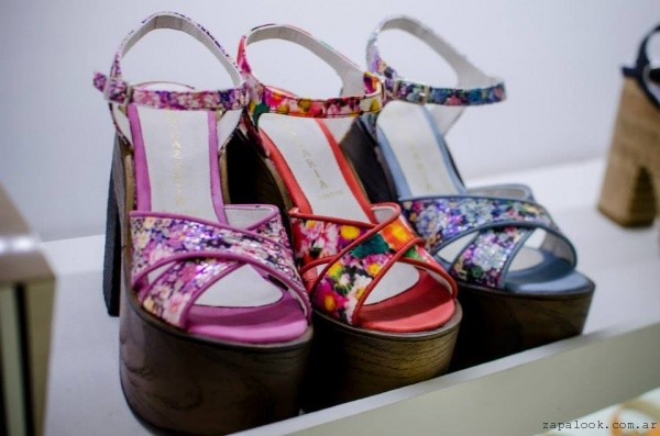 sandalias estampadas primavera verano 2016 - Nazaria calzados