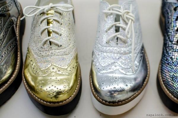 Primavera Abotinados Nazaria Metalizados Zapatos – 2016 Verano EHfnq